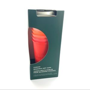 Starbucks 2019 Holiday Reusable Hot Cups Pack Of 6
